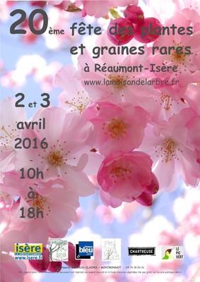 affiche fête des plantes 2016